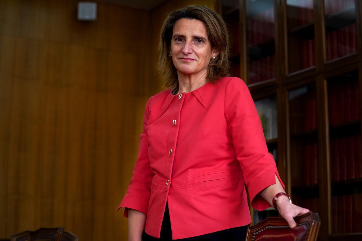Entrevista a la vicepresidenta cuarta y ministra para la Transición Ecológica y el Reto Demográfico Teresa Ribera.