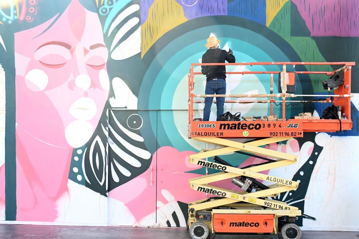 La Maquinista omple Barcelona de color amb l'esperat festival Urban Walls