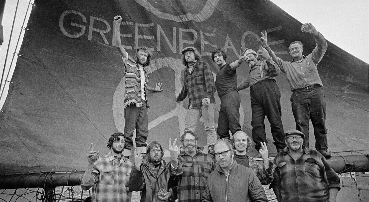 Greenpeace cumple 50 años: así fue su nacimiento