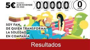 Resultados del Sorteo del Oro de la Cruz Roja 2020.