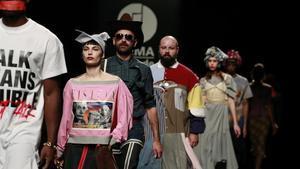 Desfile de Brain&Beast en la Madrid Fashion Week.