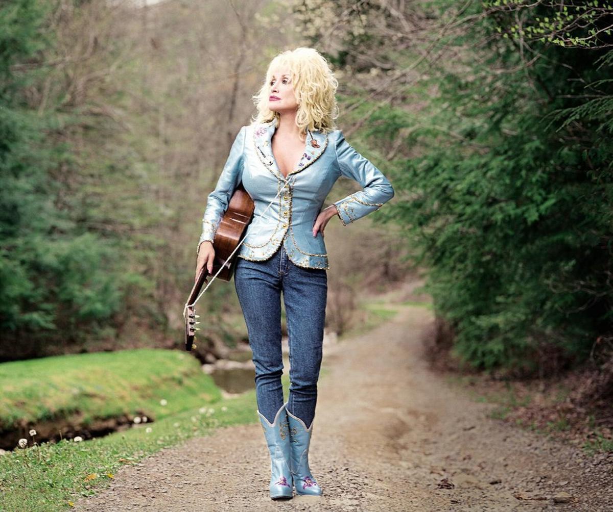 La reina del country, Dolly Parton.