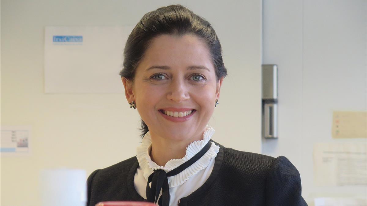 La investigadora Leticia de Mattos.
