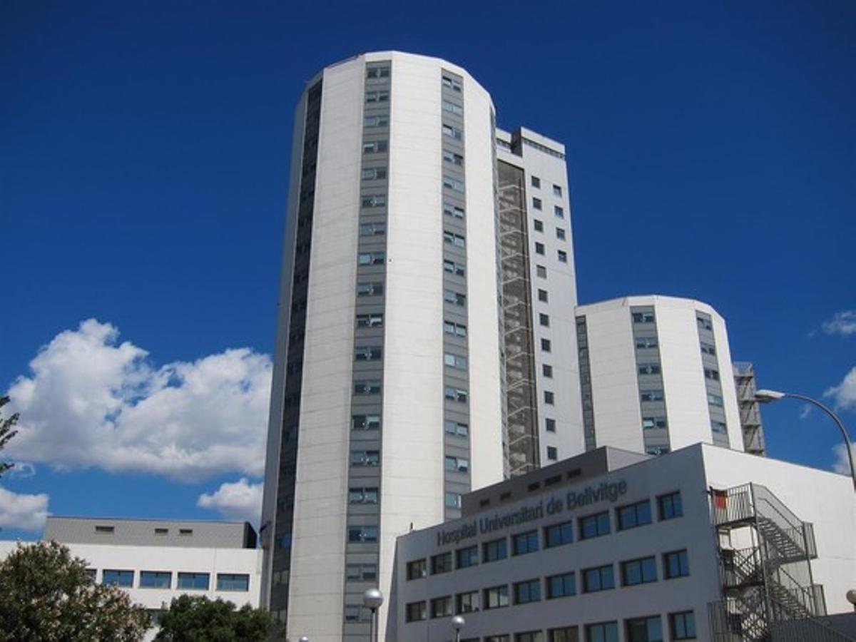 Hospital Universitari de Bellvitge en L'Hospitalet de Llobregat.