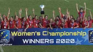 Las jugadoras españolas celebran el triunfo ante Países Bajos.