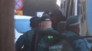 'El Melillero' llega a los juzgados de Fuengirola.