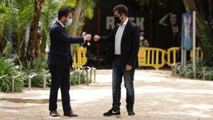 ERC i Junts reclamaran a Europa un referèndum «acordat i vinculant» sense renunciar a la «confrontació»