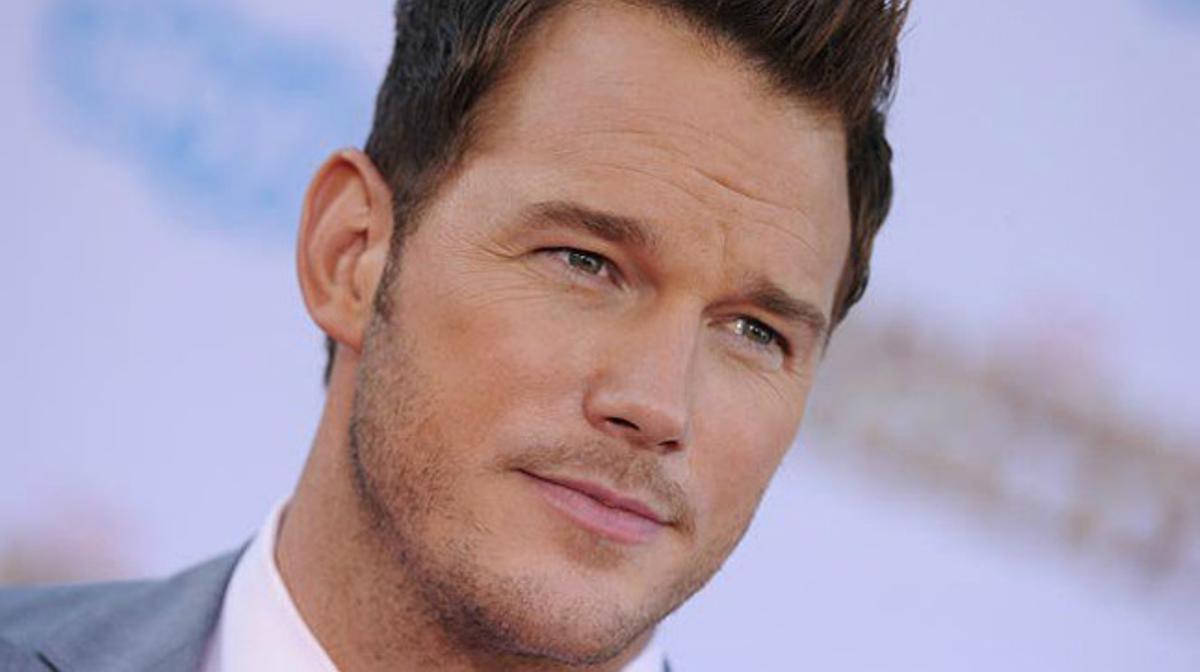 El actor Chris Pratt.