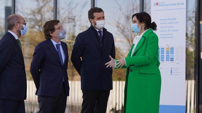 Ayuso inaugura el hospital de emergencias Isabel Zendal
