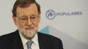 Rajoy anuncia que dejará la presidencia del PP