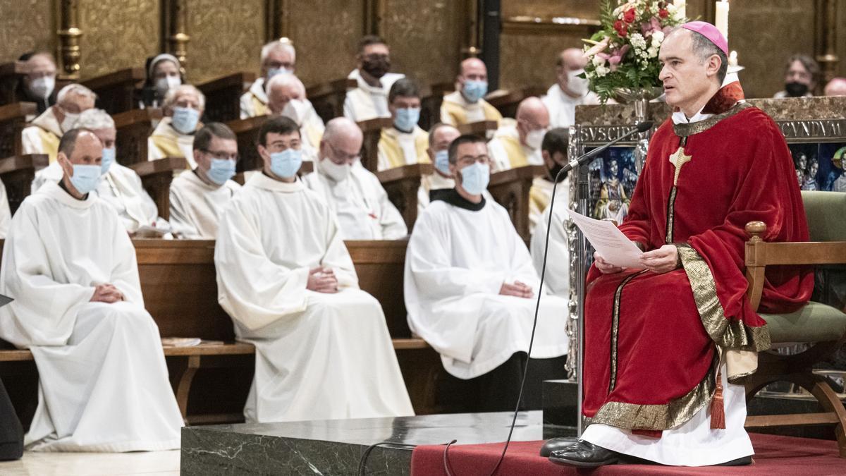 El nuevo abad de Montserrat, Manel Gasch.