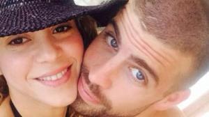 Shakira y Piqué en una de sus fotos compartidas en redes sociales