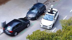 Así es como los coches de Apple están radiografiando las calles de Barcelona