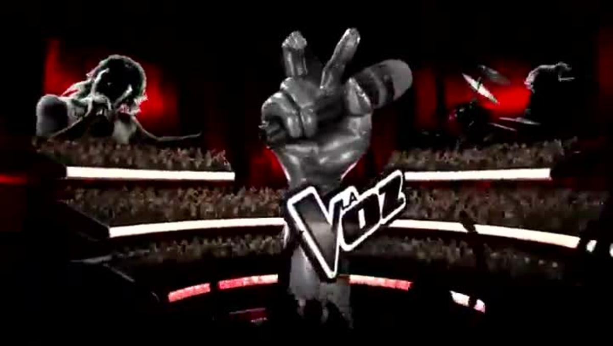 Vídeo promocional de la nueva temporada del concurso de Tele 5 'La Voz'.