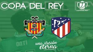 Cornellà-Atlético en la Copa del Rey.