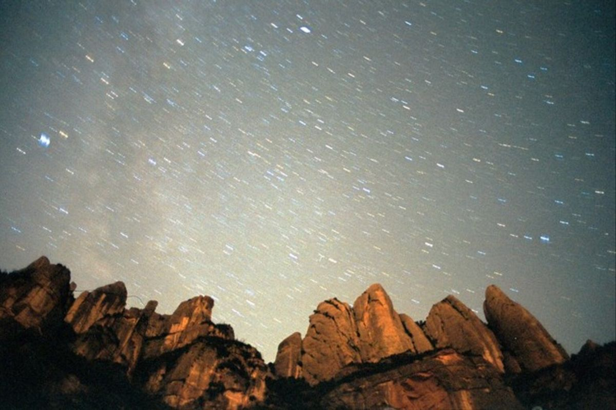 La pluja d'estrelles Oriònides també es podrà apreciar avui