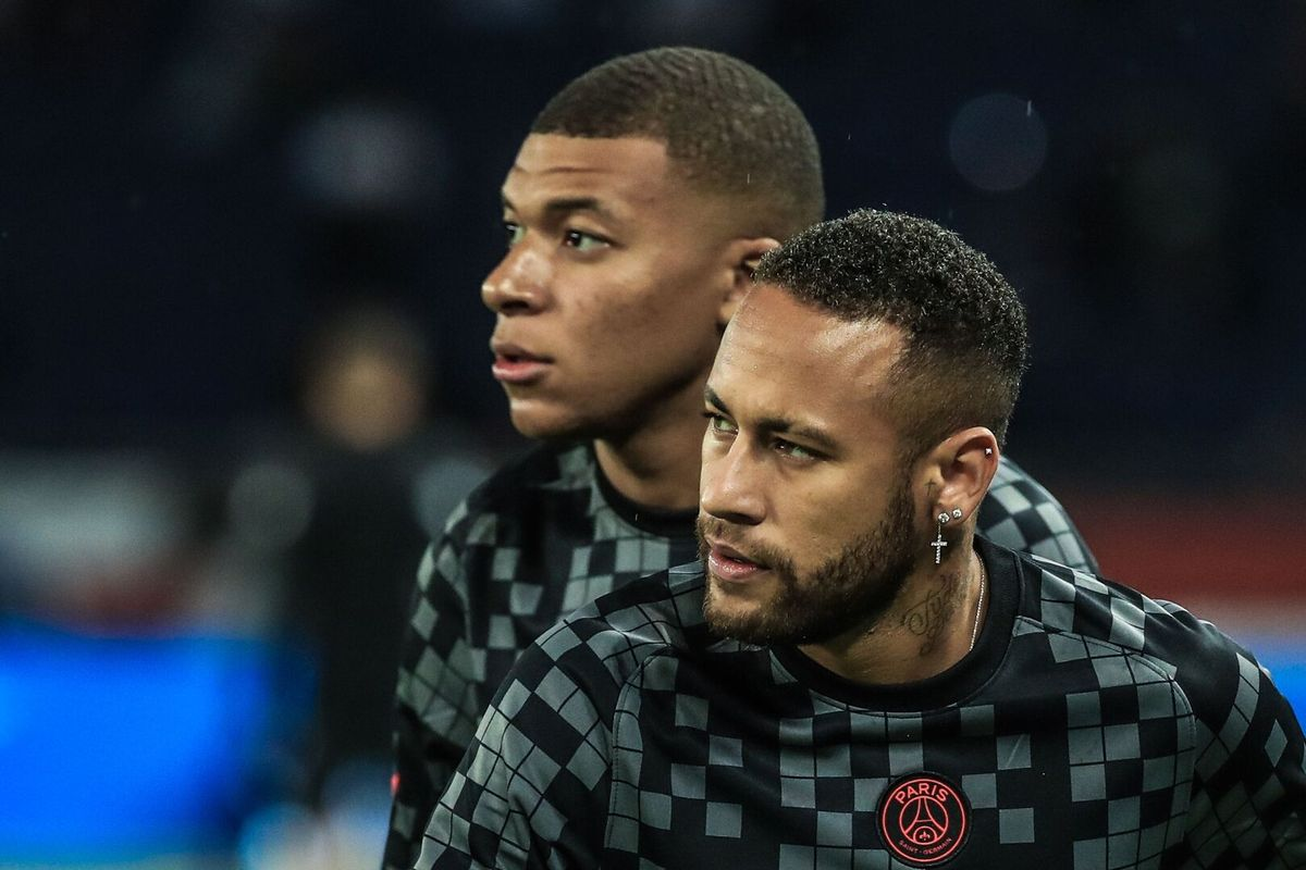 Mbappé y Neymar.