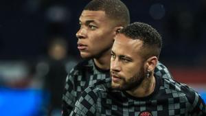 Mbappé, sobre Neymar: «No me la passa»