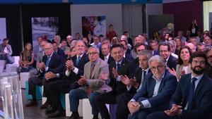 Presentación del proyecto de los Juegos Olimpicos Pirineus-Barcelona, en septiembre de 2019.