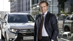 Jorge Belzunce, consejero delegado de Mitsubishi España.