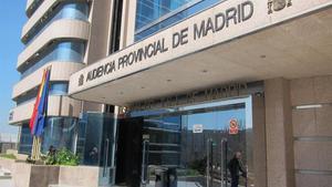 La Audiencia Provincial de Madrid.
