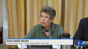 Rosa María Mateo en sedeparlamentaria.