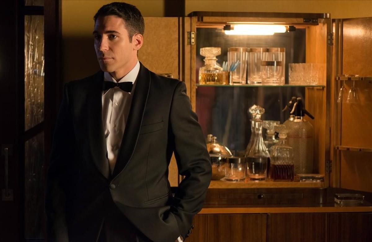 El actor Miguel Angel Silvestre, protagonista de la serie de Antena 3 'Velvet'.
