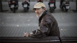Miguel Fuster, dibujante miembro de Arrels que pasó 15 años viviendo en la calle.