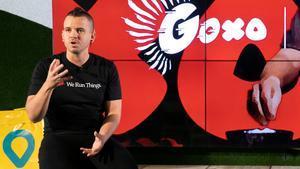 David Muñoz, en la presentación de Goxo en Barcelona.