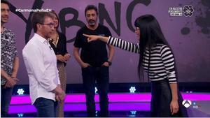 Yi Bing en 'El hormiguero'.