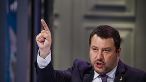 El líder ultraderechista Matteo Salvini.