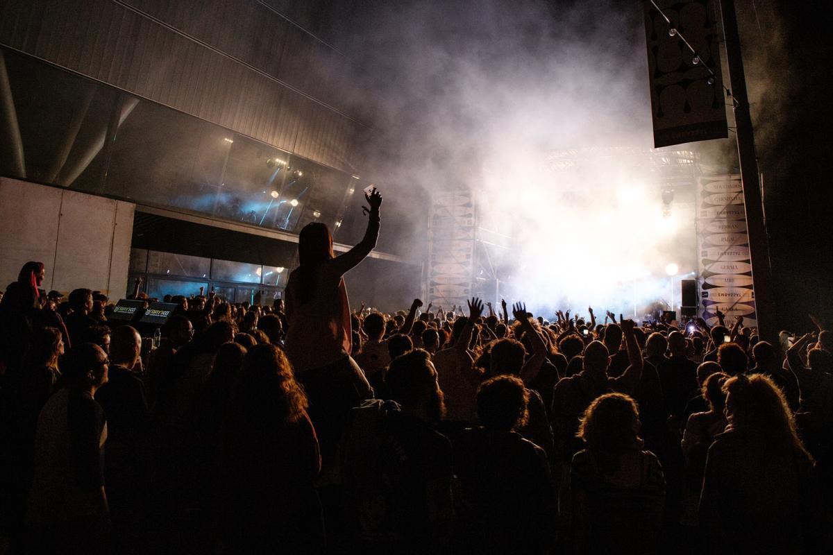 Un concierto del festival Embassa't en Sabadell, 2019