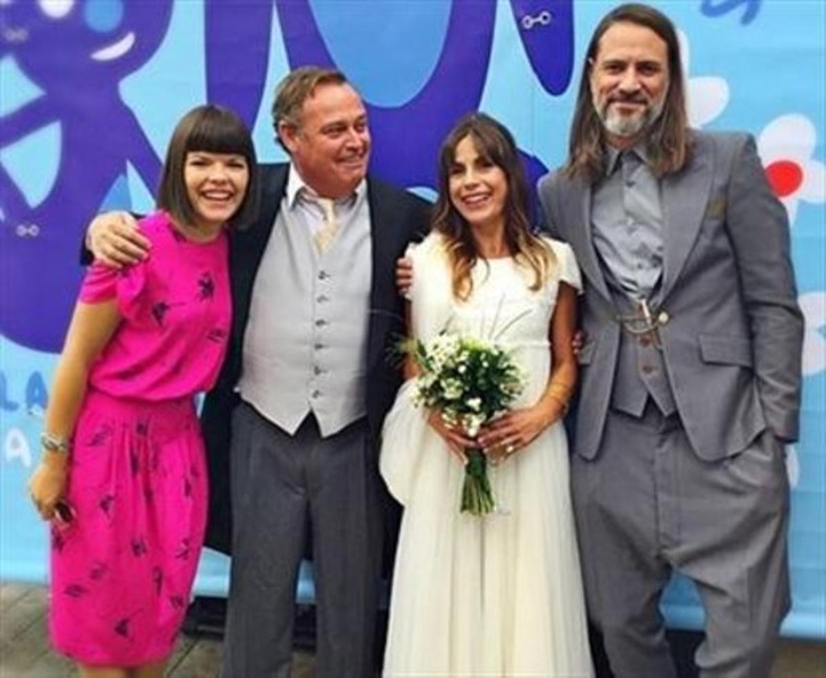 Pablo Carbonell se casa otra vez con su esposa