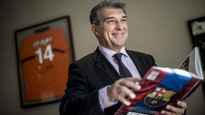 Entrevista con el candidato a las elecciones al Barça, Joan Laporta