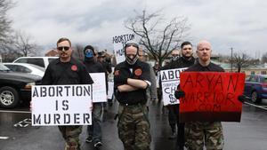 Marcha antiabortista en Arkansas, en una imagen de marzo del 2019.