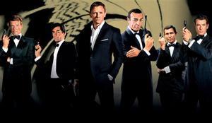 Roger Moore, Thimoty Dalton, Daniel Craig, Sean Connery, George Lazenby y Pierce Brosnan