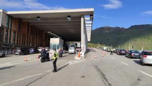 Frontera de Andorra con Francia, el pasado 1 de junio.