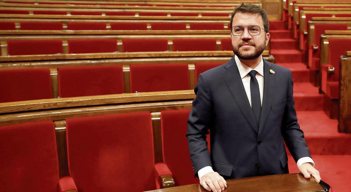 Pere Aragonès, el pasado viernes ya investido presidente de la Generalitat.