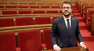 Aragonès, investido presidente de la Generalitat con aval del independentismo