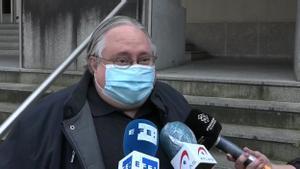 Luis Ángel Garrido, el juez que ha permitido la reapertura de los bares en Euskadi, asegura no ser negacionista.