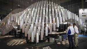 Un aspecto del salón Barcelona Building Construmat.