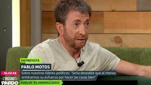 """Pablo Motos, sobre su entrevista a Abascal: """"Los de izquierdas me acosaron y los de Vox me amenazaron"""""""