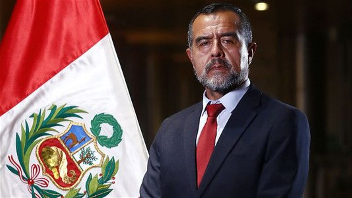 El ministro de Trabajo y Promoción del Empleo, Iber Maraví.