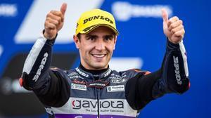 El español Albert Arenas (KTM), líder y favorito para ganar, la semana que viene, el Mundial de Moto3.