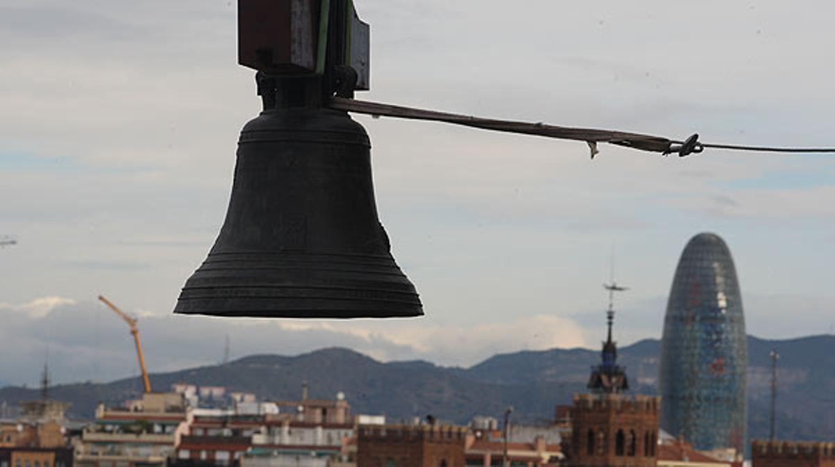 Santa Maria del Mar recupera sus campanas.