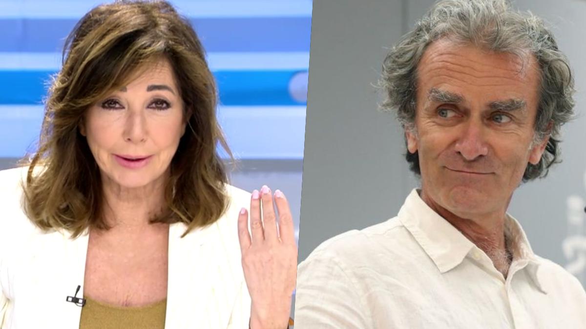 Ana Rosa Quintana y Fernando Simón