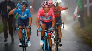Carapaz reforça el liderat, Roglic cedeix 1.23, en l'etapa del Mortirolo | Última hora