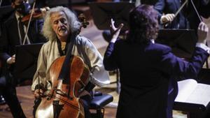 La Orquestra Camera Musicae conMischa Maisky, en el Palau de la Música, el domingo 31 de enero.