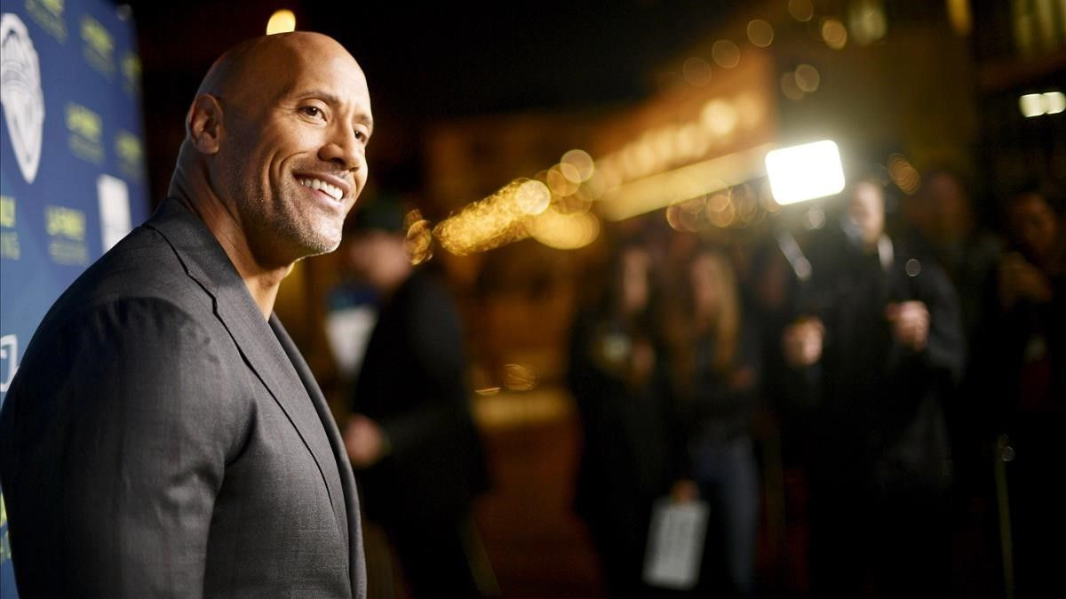 Dwayne Johnson, en Hollywood, el pasado 5 de abril