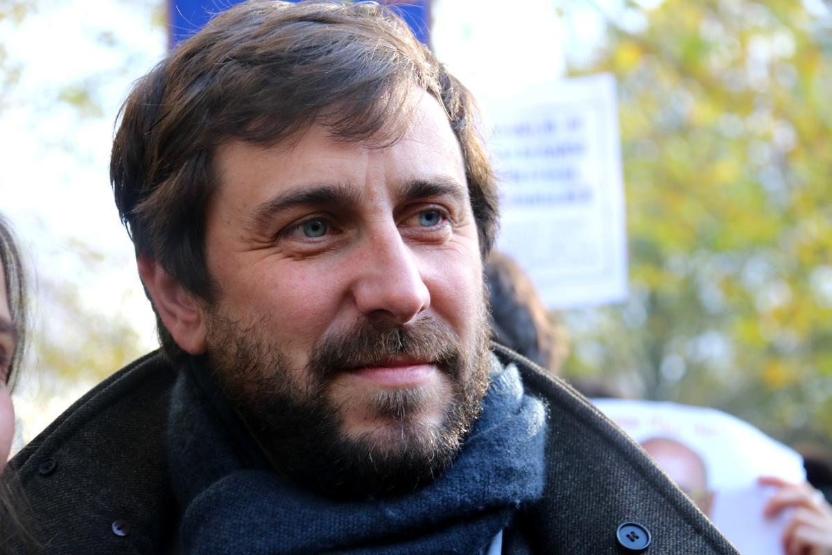 Toni Comín, uno de los 'exconsellers' que están en Bruselas.